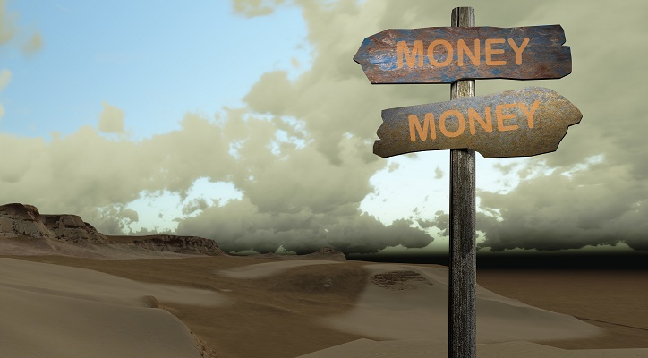 sign direction money-money made in 2d software
