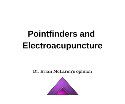 Pointfinders and Electroacupuncture